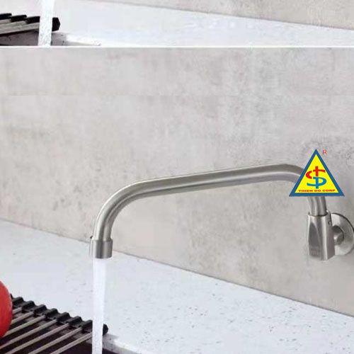 vòi bếp, voi bep, vòi cấp nước bếp á, vòi bếp á 400, vòi nước dài, vòi nước bếp á loại dài