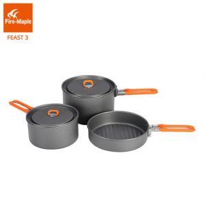 Bộ nồi nấu ăn dã ngoại Fire Maple Feast 3