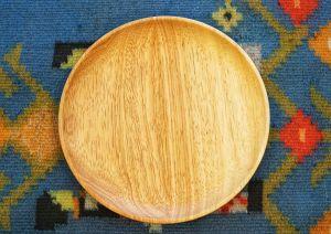 Đĩa gỗ đường kính 20cm