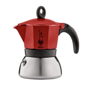 Ấm pha cà phê Bialetti Induction 3 cups màu đỏ