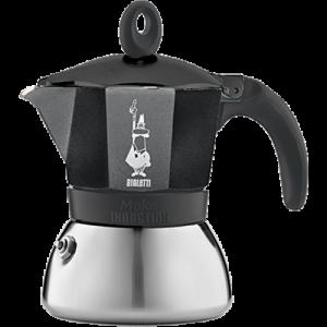 Ấm pha cà phê Bialetti Induction 3 cups màu đen
