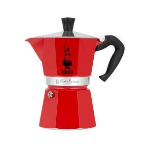 Ấm pha cà phê Bialetti Moka Express Rossa 3 cups