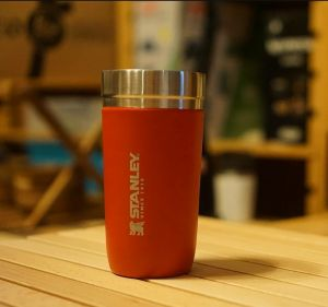 Stanley GO Series Vacuum Insulated Tumbler 500ml (16.9oz)  - Red Sky