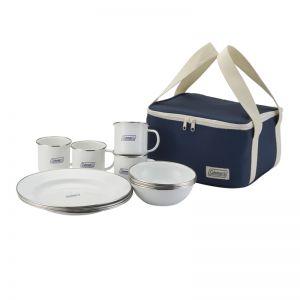 Set tráng men Coleman Enamel Dishware (Only Japan Domestic)