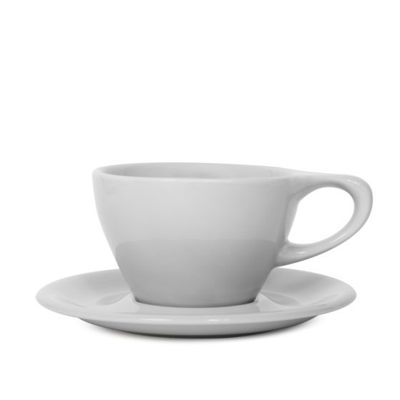 NotNeutral Lino Small Latte Cup 240 - Light Gray