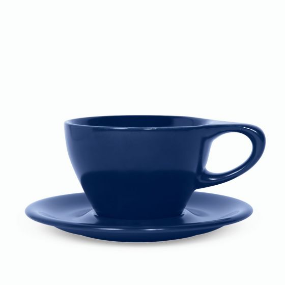 NotNeutral Lino Small Latte Cup 240 - Indigo