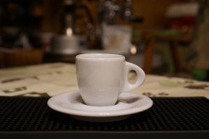 Ly sứ màu trắng espresso Ancap Ristretto Galileo 55ml