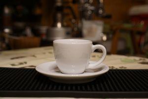 Ly sứ màu trắng espresso Ancap Open 75ml