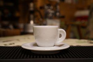 Ly sứ màu trắng espresso Ancap Bari 55ml