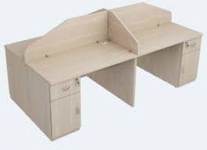 Bàn modul 4 chỗ gỗ có hộc xưởng sản xuất giá rẻ
