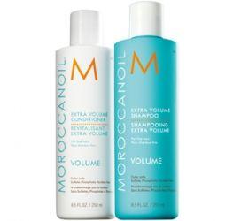 Dầu Gội và Dầu Xả Tăng Phồng (Extra Volume Shampoo and Condi