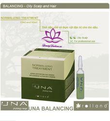 UNA Nomalizing Treatment- Tinh dầu trị tóc dầu