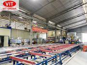 Quy trình sản xuất nhôm thanh định hình tại Nhà máy nhôm Việt Ý