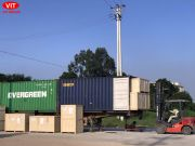 Xuất khẩu lan can nhôm thương hiệu Việt Ý