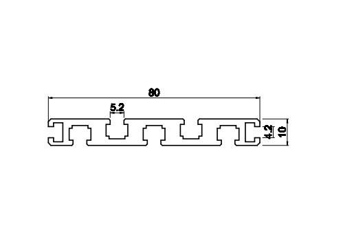 Nhôm băng tải bàn thao tác VIT-0133