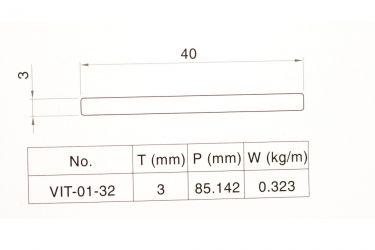 Nhôm băng tải bàn thao tác VIT-0132