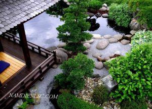 Phong cách sân vườn Á Đông