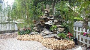 Những điều cần biết khi dùng đá trang trí ở cảnh quan sân vườn