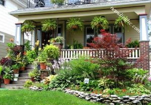 Chia sẻ bí quyết trang trí sân vườn đẹp