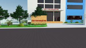Thiết kế, thi công cảnh quan nhà máy Horn - Việt Nam