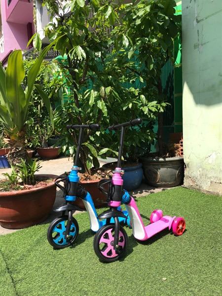 Xe scooter 2 in 1