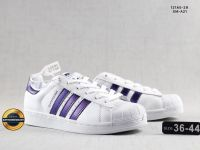 Giày Đế Bằng Adidas Superstar, Mã Số BC028