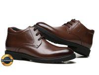 Giày công sở, giày tăng chiều cao giày tây, giày da nam ECCO 2018. Mã EC011