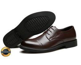 Giày công sở, giày tăng chiều cao giày tây, giày da nam ECCO 2018. Mã EC017