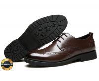 Giày công sở, giày tăng chiều cao giày tây, giày da nam ECCO 2018. Mã EC019