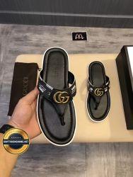 Dép Da Gucci Xỏ Ngón 2018 Cao Cấp, Mã Số BC118