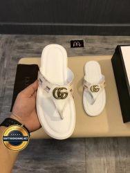 Dép Da Gucci Xỏ Ngón 2018 Cao Cấp, Mã Số BC119