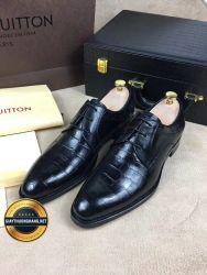 Giày Da Nam Hàng Hiệu Cao Cấp LOUIS VUITTON 2018, Mã Số BC1070