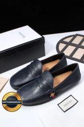 Giày Da Nam Hàng Hiệu GUCCI Mẫu Mới 2018, Mã Số BC1105
