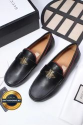 Giày Da Nam Hàng Hiệu GUCCI Mẫu Mới 2018, Mã Số BC1107