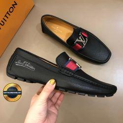 Giày Da Nam Hàng Hiệu LV 2019. Mã BC2531