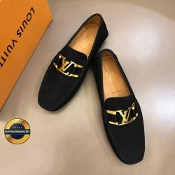 Giày Da Nam Hàng Hiệu LV 2019. Mã BC2533