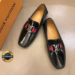 Giày Da Nam Hàng Hiệu LV 2019. Mã BC2541