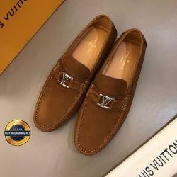 Giày Da Nam Hàng Hiệu LV 2019. Mã BC2548