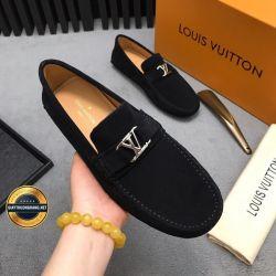 Giày Da Nam Hàng Hiệu LV 2019. Mã BC2556