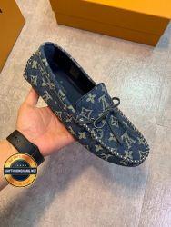 Giày da lười LV - Louis Vuitton 2019 lịch lãm, Mã số BC15