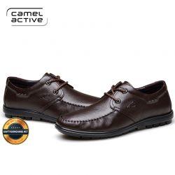 Giày Da Mềm Camel Active Nhập Khẩu 2020, Mã BC1758A