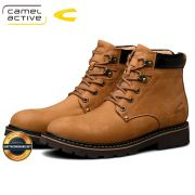 Giày da bò nhập khẩu Camel Active cao trên mắt cá, Mã số BC19511