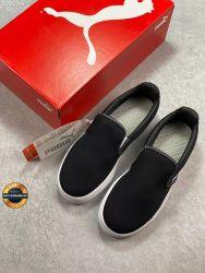 Giày lười vải Puma Smash Vulc Slip on 2020, Mã BCK010