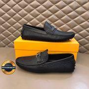 Giày da lười  LV - Louis Vuitton 2020 lịch lãm, Mã số BC2631
