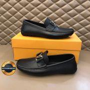 Giày da lười  LV - Louis Vuitton 2020 lịch lãm, Mã số BC2632