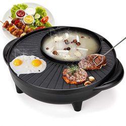 Bếp lẩu nướng điện Green Cook