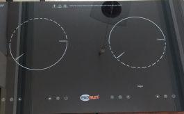 Bếp điện từ đôi Bigsun BEF-2IFI
