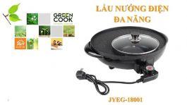 Nồi Lẩu Nướng Điện Đa Năng JYEG-18001