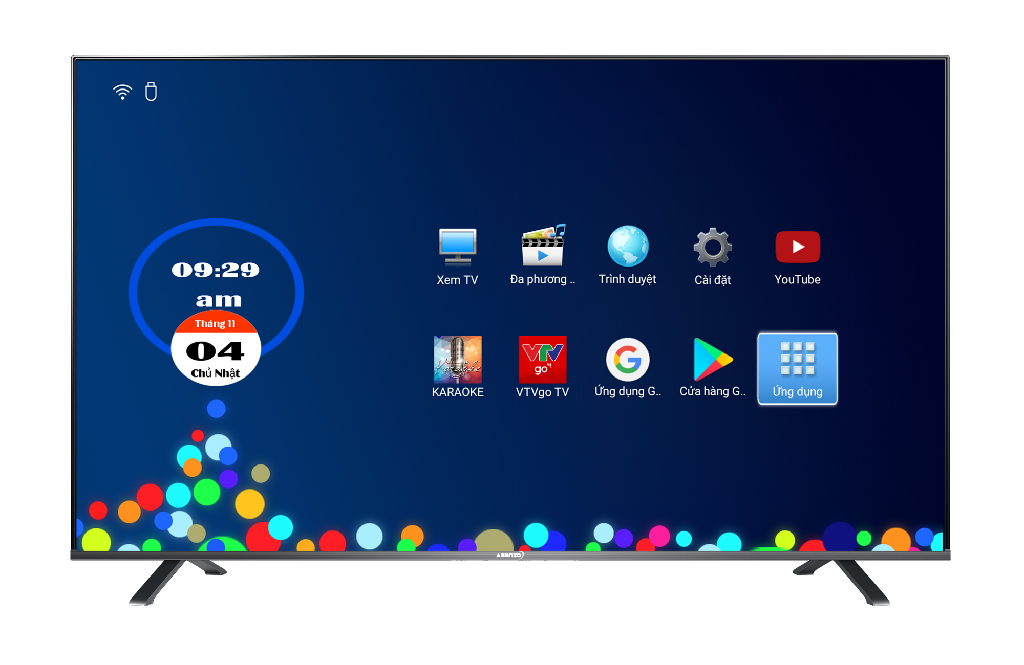 Smart TV 4K Asanzo 50 inch AS50U8