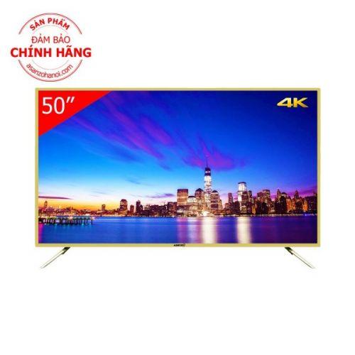 Smart TV 4K ASANZO 50AU6100